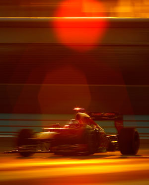 Vettel has his fair share of luck in Abu Dhabi